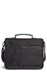 Ted Baker Men's London 'Tograin' Nylon Document Bag Black