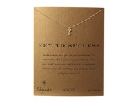 Dogeared Key To Success Necklace 16 Gold Necklace