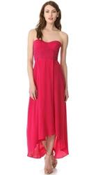 Zimmermann Strapless Underwire Dress Ruby