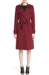 Burberry Women's 'Tempsford' Cashmere Wrap Trench Coat