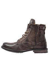 Sneaky Steve Kingdom Winter Boots Charcoal London Grey