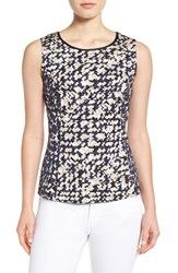 Nic Zoe Women's 'Fractured Squares' Sleeveless Top