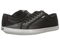 Ben Sherman Chandler Lo Coated Canvas Black Men's Lace Up Casual Shoes