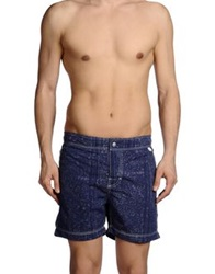 Woolrich Swimming Trunks Dark Blue