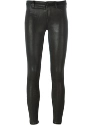 J Brand Fitted Trousers Black