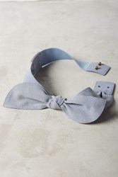 Anthropologie Brigitte Bow Belt Sky