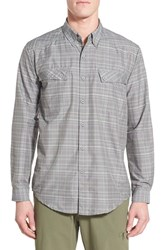 Men's Exofficio 'Outdoor Minimo' Regular Fit Quick Dry Spf Plaid Sport Shirt