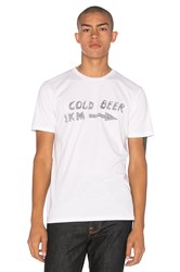 Altru Cold Beer Tee White