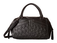 French Connection Andy Satchel Black Satchel Handbags