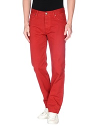 Fay Jeans Brick Red