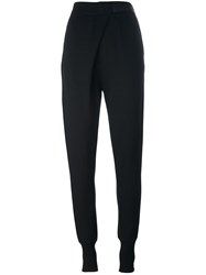 Ann Demeulemeester Loose Fit Track Pants Black