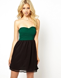 Club L Chiffon Prom Dress Forestblack