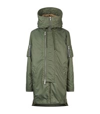 Allsaints Axis Parka Male Green