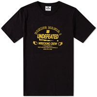 Undefeated Boxing Mania Tee Black