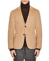 Z Zegna Wool And Camel Hair Slim Fit Sportcoat