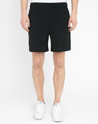 Lacoste Black Sport Performance Shorts With Jock Strap