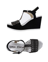 Luca Stefani Footwear Sandals Women Black