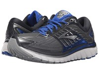 Brooks Glycerin 14 Anthracite Electric Blue Silver Men's Running Shoes Black