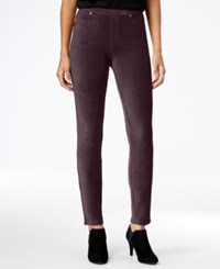 Styleandco. Style Co. Corduroy Leggings Only At Macy's Dried Plum