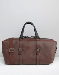 Ted Baker Holdall Colour Block Brown