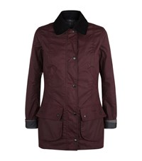 Barbour International Straiton Wax Jacket Female Red