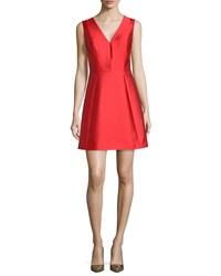 Kate Spade Sleeveless Bow Back Fit And Flare Dress Women's Fairytale Red