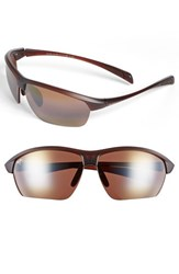 Men's Maui Jim 'Stone Crushers Polarizedplus2' 71Mm Sunglasses Matte Rootbeer