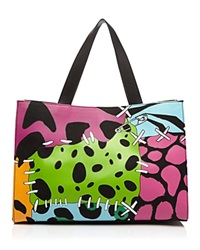 Moschino Cheap And Chic Moschino Cheap And Chic Tote Dino Print Multi