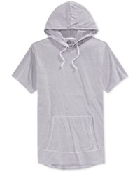American Rag Men's Short Sleeve Hoodie Only At Macy's Bright White
