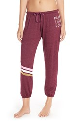 Women's Spiritual Gangster 'Peace Love Yoga' Sweatpants