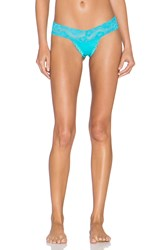 Les Coquines Zoe Thong Blue