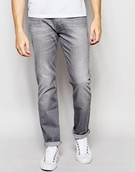 Lee Jeans Powell Low Slim Fit Stretch Grey Used Light Wash Grey Used