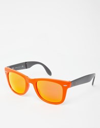 Ray Ban Wayfarer Sunglasses Orange