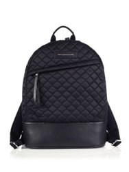 Want Les Essentiels Leather Trimmed Quilted Backpack