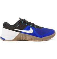 Nike Training Metcon 2 Mesh And Rubber Sneakers Blue