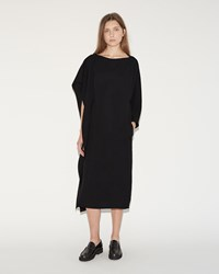 Sofie D'hoore Dixit Silk Crepe Dress Black
