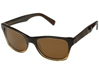 Shwood Canby Fifty Fifty Polarized Sweet Tea Elm Burl Brown Polarized Sport Sunglasses