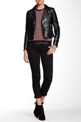 Level 99 Lily Cropped Skinny Jean Black