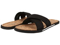 Ugg Ithan Cork Black Nubuck Men's Sandals