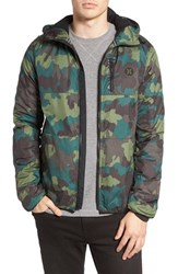 Hurley Men's Recruit Ripstop Camo Jacket Camoflague