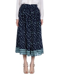 Bsbee Skirts 3 4 Length Skirts Women Dark Blue