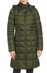 The North Face Women's 'Metropolis Ii' Hooded Water Resistant Down Parka Rosin Green