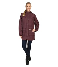 Carhartt Fryeburg Coat Deep Wine Women's Coat Burgundy