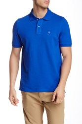 Tailorbyrd Solid Polo Blue