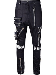 Hood By Air 'Punk' Skinny Jeans Blue