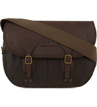 Barbour Classic Wax Leather Tarras Olive