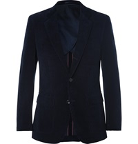 J.Crew Midnight Blue Ludlow Cotton Corduroy Blazer