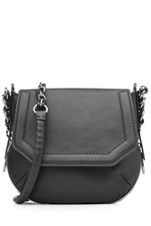 Rag And Bone Rag And Bone Bradbury Mini Suede Shoulder Bag Black