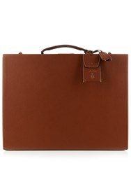 Mark Cross Grace 50Cm Saffiano Leather Trunk Tan