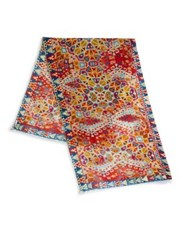 Bindya Boho Nomad 3 Cashmere And Silk Scarf Multi